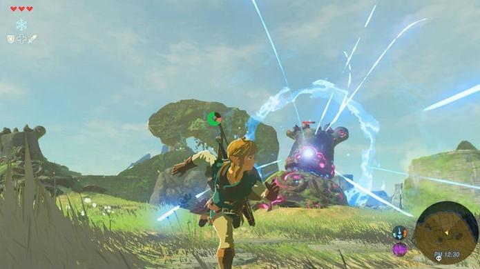 The Legend of Zelda: Breath of the Wild oferece a maior liberdade da série (Foto: Divulgação/Nintendo) (Foto: The Legend of Zelda: Breath of the Wild oferece a maior liberdade da série (Foto: Divulgação/Nintendo))