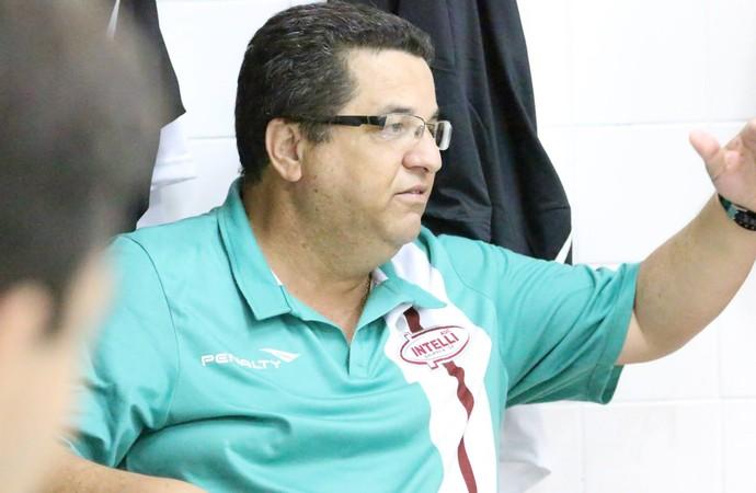 Técnico do Orlândia Futsal, Cidão (Foto: Divulgação/Orlândia)