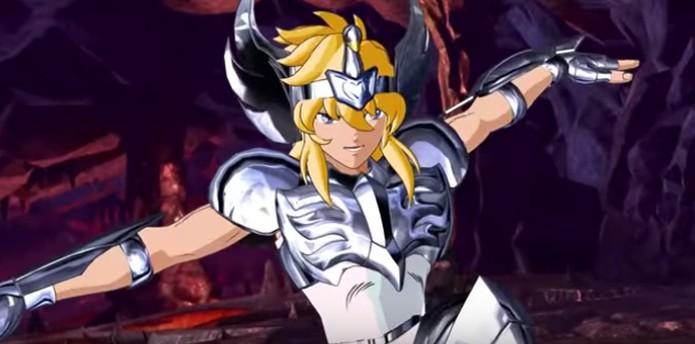 Hyoga luta no novo vídeo de Saint Seiya: Soliers Soul (Foto: Divulgação/Bandai Namco) (Foto: Hyoga luta no novo vídeo de Saint Seiya: Soliers Soul (Foto: Divulgação/Bandai Namco))