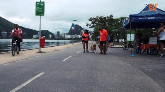 Cachorros velozes do irmão estimulam Claudia a dar primeiro passo na corrida