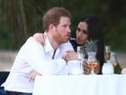 Príncipe Harry e Meghan Markle fazem primeira aparição pública como casal