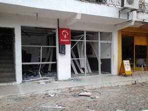 Assaltantes atacam dois bancos e PM morre em troca de tiros no Ceará (Foto: Foto: Janilson Neves)