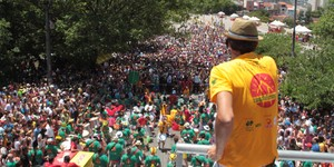 Blocos de rua conquistam SP; banheiros e trânsito viram desafio (Rafael Arbex/Estadão Conteúdo)