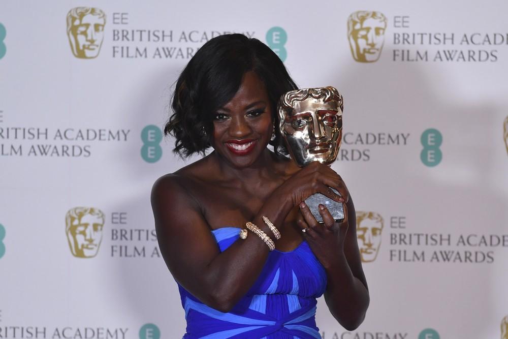 Viola Davis ganhou o Bafta de melhor atriz coadjuvante por 'Um limite entre nós' (Foto: Ben Stansall/AFP)