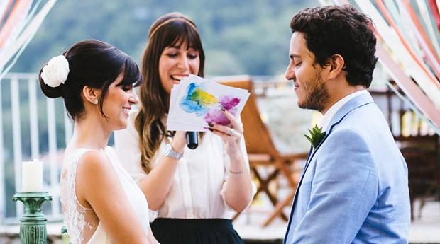 Ilana Reznik desenvolve as cerimônias de acordo com a personalidade dos casais (Foto: Gustavo Marialva)