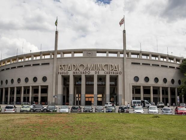 Estádio do Pacaembu, na Zona Oeste de São Paulo (Foto: Vagner Campos/TV Globo)