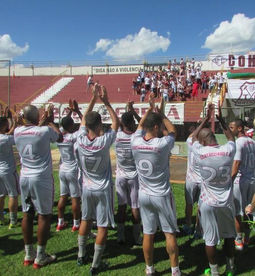 COM BARULHO (Divulgação/Assessoria Sertãozinho FC)