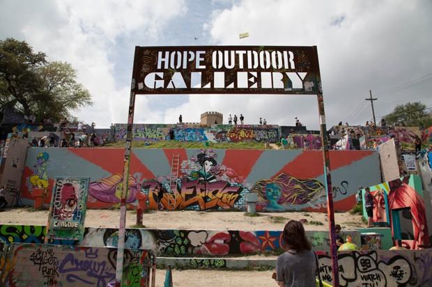 HOPE Outdoor Gallery Walls (Foto: Divulgação)
