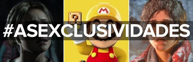 'Until Dawn', 'Super Mario Maker' e 'Rise of the Tomb Raider' são exclusivos de destaque para a segunda metade de 2015 (Foto: Divulgação)
