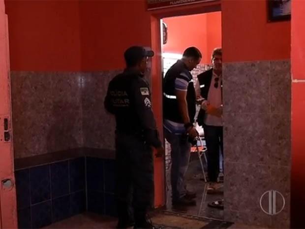Um adolescente foi morto em um salão de cabeleireiros (Foto: Reprodução/Inter TV Cabugi)