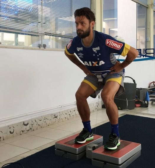Sem perder tempo (Divulgação/ Cruzeiro)
