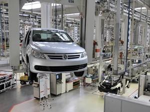 Fábrica Volkswagen (Foto: Divulgação)