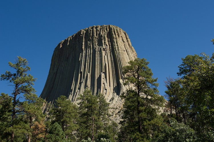 Devils Tower, Wyoming, EUA (Foto: Divulgao)