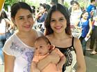 'Me deu mais força', diz mãe que levou filho bebê para Enem no AM