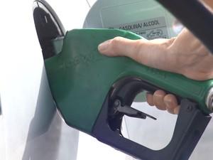 Preço do etanol em Leme é o menor do Estado de São Paulo (Foto: César Fontenelle/ EPTV)
