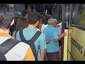 Terminal Central Uberlândia (Foto: Reprodução/ TV Integração)