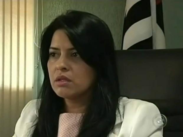 Célia Sakamoto assume a prefeitura de Itaí (SP) até decisão da Justiça Eleitoral. (Foto: Reprodução TV Tem)