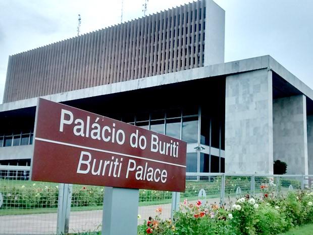 Fachada do Palácio do Buriti, sede do governo do Distrito Federal (Foto: Lucas Nanini/G1)