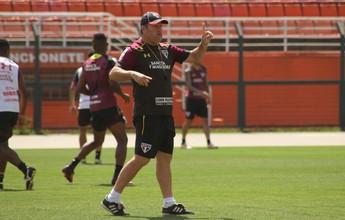 Com volta de Cueva e testes no time titular, São Paulo treina no Pacaembu