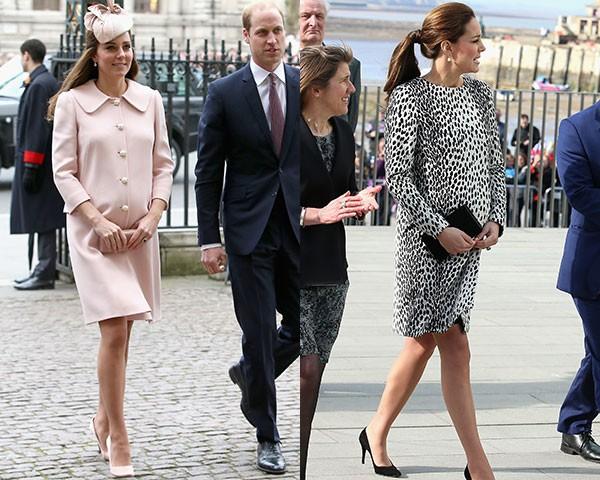 Kate Middleton investe em um look bastante elegante (Foto: Getty Images)