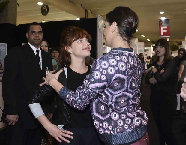 Bruna Linzmeyer e Deborah Secco  (Foto: Leo Franco e Joshua Bryan / AgNews)