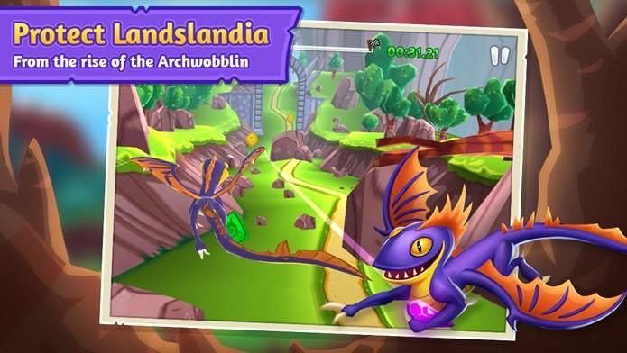 Jogo com dragões fofinhos e muito coloridos (Foto: Divulgação)