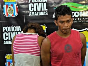 Mãe tentou acobertar o crime, informando que criança teria morrido ao cair da rede (Foto: Tiago Melo/G1 AM)