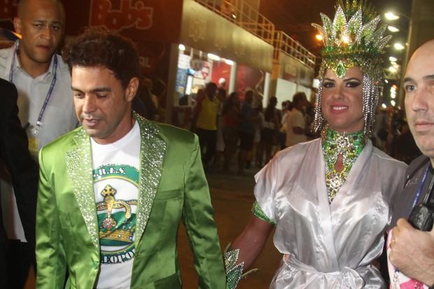 Zezé Di Camargo e Graciele Lacerda (Foto: Anderson Borde/Ag News)