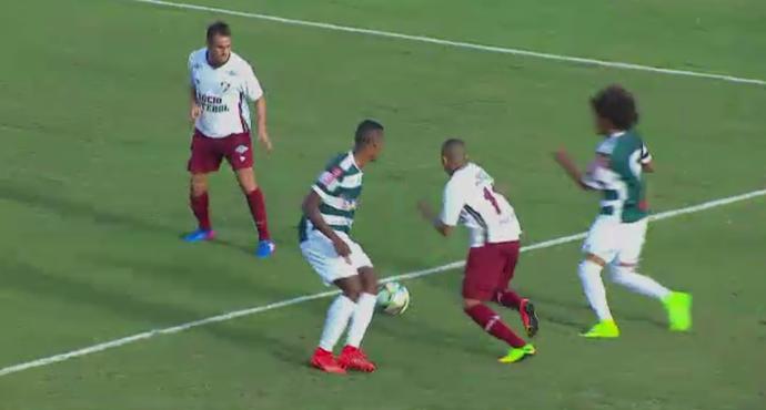 Em dose dupla, Lucas e Wellington Silva são os abusados da rodada (Foto: Reprodução/SporTV)