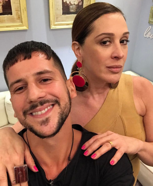 Baile Vogue 2017_Caio Braz e Claudia Raia (Foto: Reproduo / Instagram)