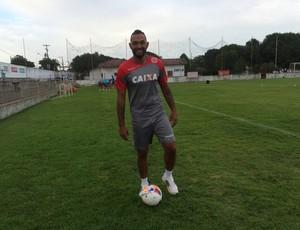 Fábio Santos - América-RN (Foto: Edmo Anderson/Vermelho de Paixão)
