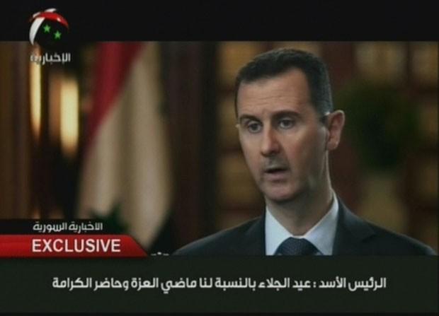 Rebeldes tentam tirar do poder o presidente Bashar al-Assad (Foto: AFP)