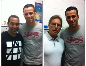 Leandro Damião, Zinho e Oswaldo de Oliveira (Foto: Reprodução / Facebook)