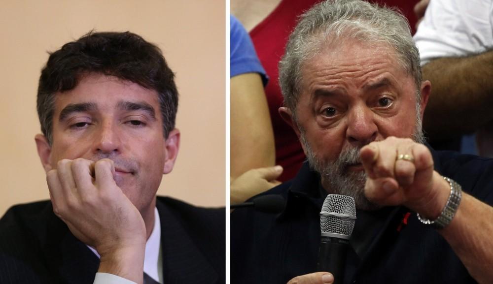 Cassio Roberto Conserino e Lula