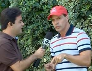 Túlio Maravilha está próximo de marcar seu folclórico gol 1000 (Foto: Reprodução SporTV)