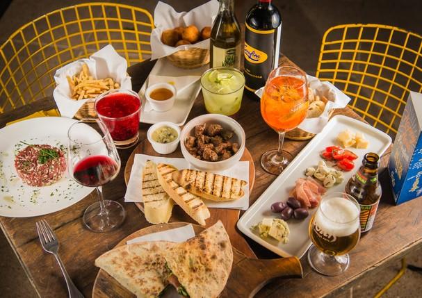 Restaurante Serafina desenvolve menu especial para happy hour (Foto: Divulgação)