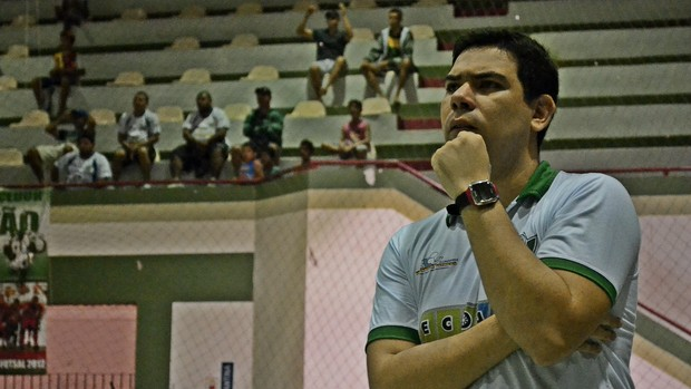 Técnico do Lagarto diz que prepara surpresa para Real Moitense na final (Foto: João Áquila / GLOBOESPORTE.COM)