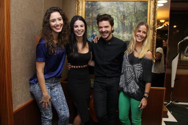 Tiago Parente inaugura salão boutique no RJ (Foto: Alex Palarea/Agnews)