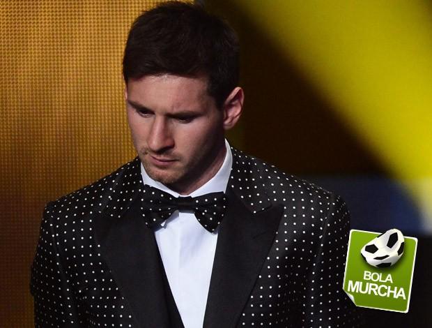 Messi selo Bola murcha (Foto: AFP)