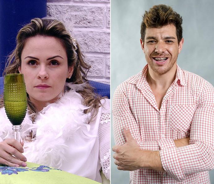 Ana Paula e Cezar Lima (Foto: TV Globo e Globo/João Cotta)