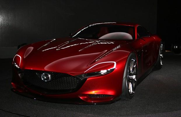 Mazda RX Vision no Salão de Tóquio (Foto: Newspress)