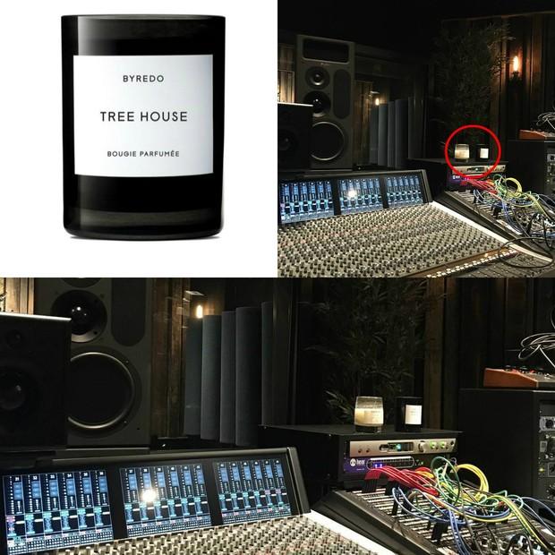 Calvin Harris mostra estúdio e vela preferida Taylor Swift aparece (Foto: Instagram / Reprodução)