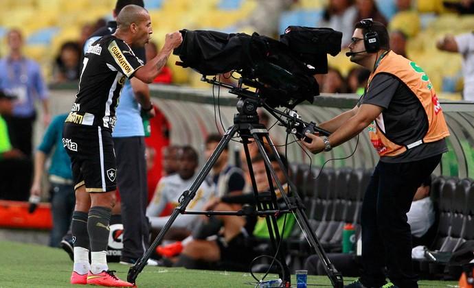 Emerson Sheik Botafogo x Bahia (Foto: André Mourão / Ag. Estado)