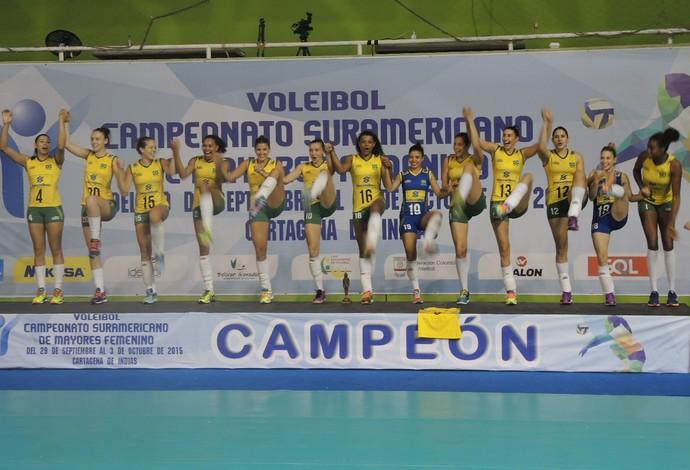 Brasil vôlei Sul-Americano (Foto: Fabio Leme)