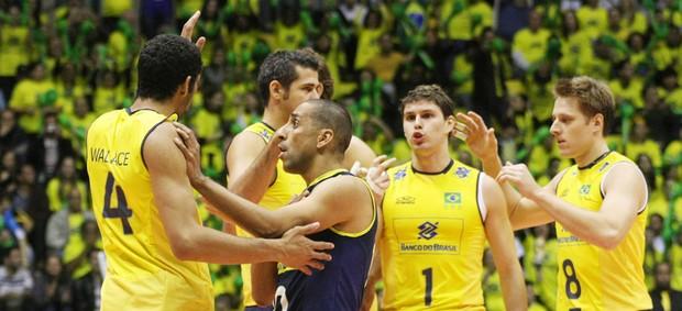 vbôlei brasil polônia liga mundial (Foto: Alexandre Arruda / CBV)