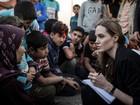 Angelina Jolie pede mais ajuda para os refugiados sírios
