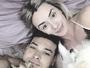 Juju Salimeni curte domingo com o marido e seus cães: 'Família amor'