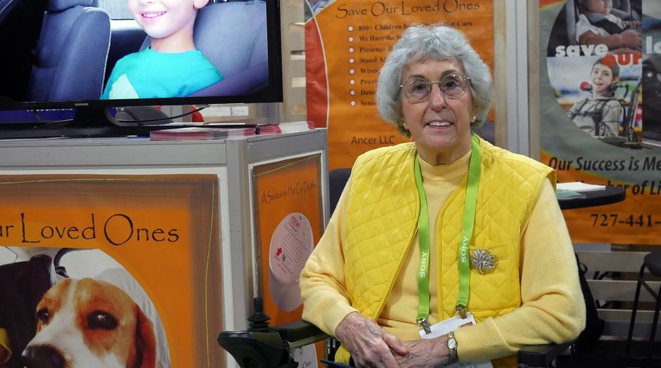 Carol Staninger fundou sua startup aos 82 anos de idade (Foto: Reprodução/Engadget)