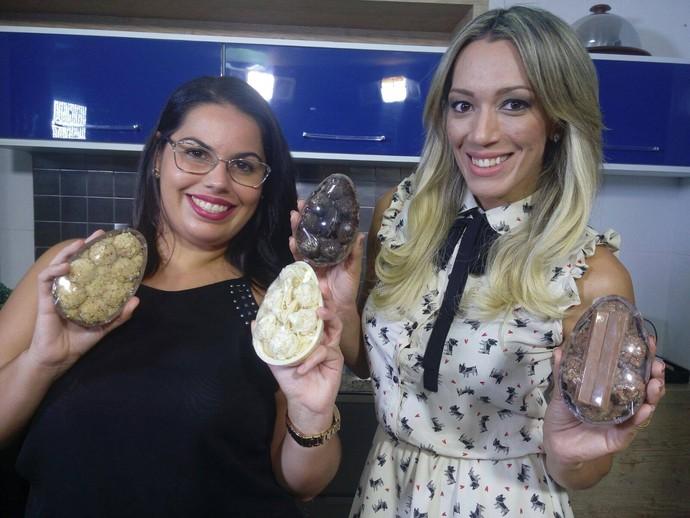 A doceira Vanina Hora ensinou a fazer ovos caseiros (Foto: Fernando Petrônio)