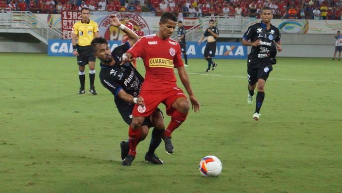 América-RN x Confiança (Foto: Augusto Gomes/GloboEsporte.com)